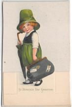 xrt601096 - St Patrick's Day Post Card Old Vintage Antique