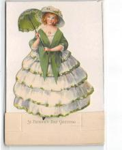 xrt601097 - St Patrick's Day Post Card Old Vintage Antique