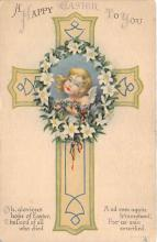 xrt602002 - Easter Post Card Old Vintage Antique