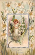 xrt602003 - Easter Post Card Old Vintage Antique