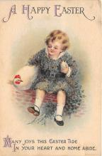 xrt602004 - Easter Post Card Old Vintage Antique