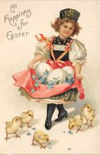 xrt602006 - Easter Post Card Old Vintage Antique