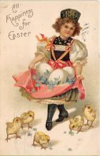 xrt602007 - Easter Post Card Old Vintage Antique