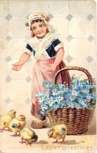 xrt602009 - Easter Post Card Old Vintage Antique