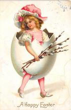 xrt602010 - Easter Post Card Old Vintage Antique