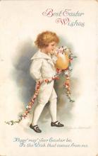 xrt602018 - Easter Post Card Old Vintage Antique