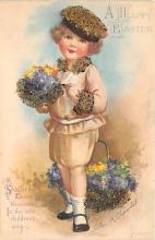 xrt602019 - Easter Post Card Old Vintage Antique