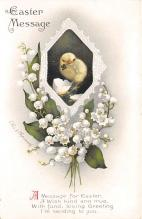 xrt602021 - Easter Post Card Old Vintage Antique