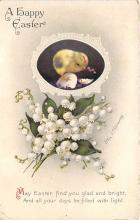 xrt602022 - Easter Post Card Old Vintage Antique