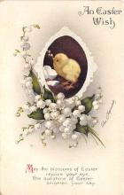 xrt602023 - Easter Post Card Old Vintage Antique