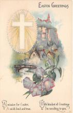 xrt602024 - Easter Post Card Old Vintage Antique