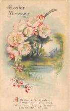 xrt602026 - Easter Post Card Old Vintage Antique