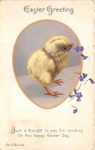 xrt602028 - Easter Post Card Old Vintage Antique