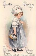 xrt602030 - Easter Post Card Old Vintage Antique