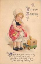 xrt602032 - Easter Post Card Old Vintage Antique