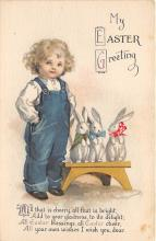 xrt602033 - Easter Post Card Old Vintage Antique
