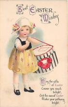 xrt602036 - Easter Post Card Old Vintage Antique