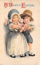 xrt602040 - Easter Post Card Old Vintage Antique