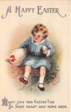 xrt602041 - Easter Post Card Old Vintage Antique
