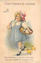 xrt602042 - Easter Post Card Old Vintage Antique