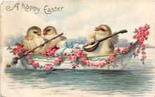 xrt602043 - Easter Post Card Old Vintage Antique