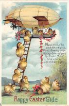 xrt602046 - Easter Post Card Old Vintage Antique