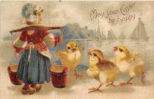 xrt602047 - Easter Post Card Old Vintage Antique
