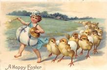 xrt602049 - Easter Post Card Old Vintage Antique