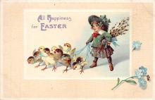 xrt602051 - Easter Post Card Old Vintage Antique