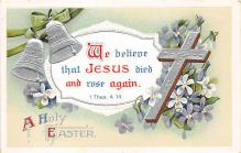 xrt602052 - Easter Post Card Old Vintage Antique