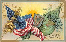 xrt603005 - Memorial Day Decoration Day Post Card Old Vintage Antique