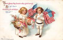 xrt603007 - Memorial Day Decoration Day Post Card Old Vintage Antique