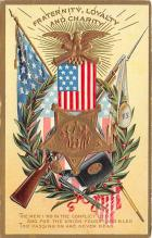 xrt603012 - Memorial Day Decoration Day Post Card Old Vintage Antique