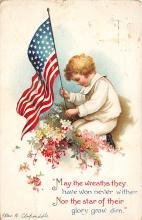 xrt603014 - Memorial Day Decoration Day Post Card Old Vintage Antique