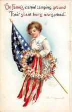 xrt603016 - Memorial Day Decoration Day Post Card Old Vintage Antique