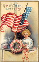 xrt603027 - Memorial Day Decoration Day Post Card Old Vintage Antique