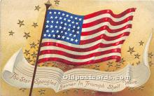 xrt604006 - Artist Signed Ellen Clapsaddle 4th of July Post Card