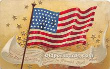 xrt604009 - Artist Signed Ellen Clapsaddle 4th of July Post Card