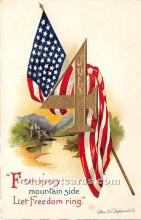 xrt604019 - Artist Signed Ellen Clapsaddle 4th of July Post Card