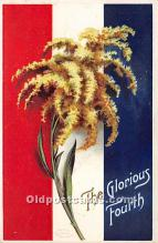 xrt604033 - Artist Signed Ellen Clapsaddle 4th of July Post Card