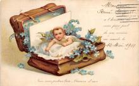 xrt605005 - Happy Birthday Post Card Old Vintage Antique
