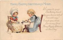 xrt605006 - Happy Birthday Post Card Old Vintage Antique