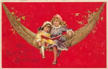 xrt605011 - Happy Birthday Post Card Old Vintage Antique