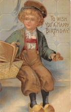 xrt605016 - Happy Birthday Post Card Old Vintage Antique
