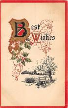 xrt605028 - Happy Birthday Post Card Old Vintage Antique