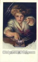 xrt800048 - Artist Allen C. Gilbert Signed Postcard, Postales, Postkaarten, Kartpostal, Cartes, Postale, Postkarte, Ansichtskarte