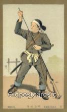 xrt800121 - Meiji Samurai Signed Postcard, Postales, Postkaarten, Kartpostal, Cartes, Postale, Postkarte, Ansichtskarte