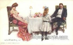 xrt800123 - Artist Howard Chandler Christy Signed Postcard, Postales, Postkaarten, Kartpostal, Cartes, Postale, Postkarte, Ansichtskarte