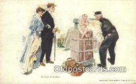 xrt800124 - Artist Howard Chandler Christy Signed Postcard, Postales, Postkaarten, Kartpostal, Cartes, Postale, Postkarte, Ansichtskarte