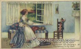 xrt800133 - Artist Kathryn Elliott Signed Postcard, Postales, Postkaarten, Kartpostal, Cartes, Postale, Postkarte, Ansichtskarte